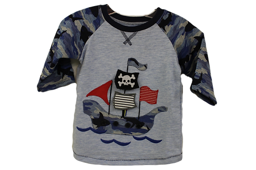 Pirate Ship Shirt by Mudpie