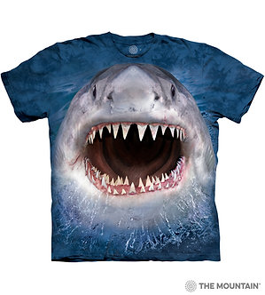 """""""Wicked Nasty Shark""""YouthT-Shirt by The Mountain"""