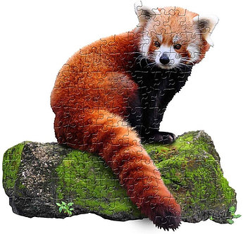 100 Piece I Am Lil' Red Panda Jigsaw Puzzle by Madd Capp Puzzles