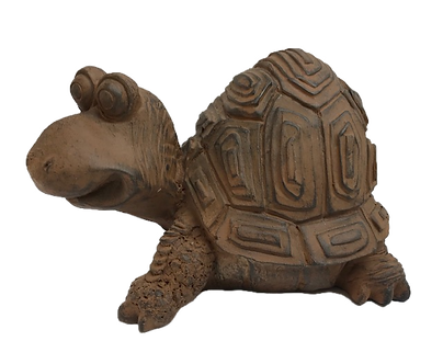 Brown Turtle Figurine by Gerson