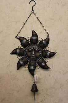 Bronze Metal Sun