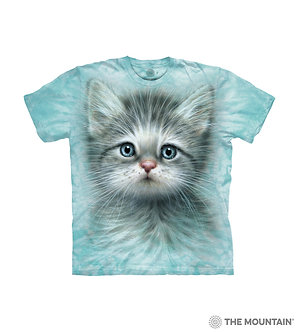 """Blue Eyed Kitten"" Youth T-Shirt by The Mountain"