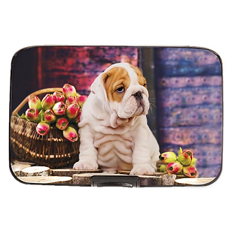Bulldog Puppy Armored Wallet by Monarque