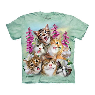 """Kittens Selfie"" Youth T-Shirt by The Mountain"