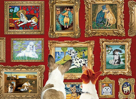 "1000 Piece Dog Jigsaw Puzzle by Cobble Hill ""Dog Gallery"""