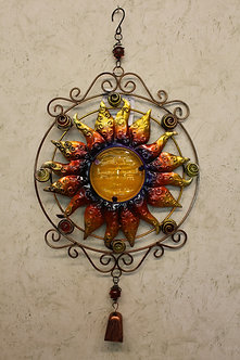 Multicolored Sun Windchime