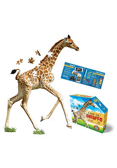 100 Piece I Am Lil' Giraffe Jigsaw Puzzle by Madd Capp Puzzles