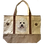 Bichon Frise Dog Canvas Tote Bag, by E&S Pets