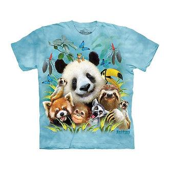 """Zoo Selfie"" PandaYouthT-Shirt by The Mountain"