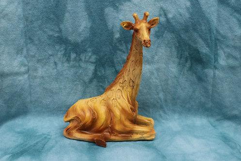 Sitting Giraffe Figurine