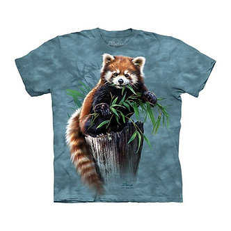 """""""Bamboo Red Panda"""" Youth T-Shirt by The Mountain"""