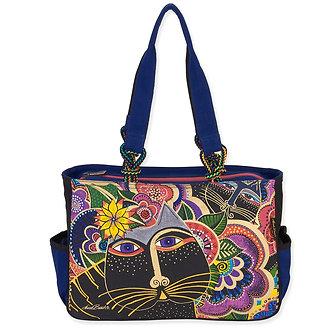 "Laurel Burch ""Carlotta's Cats"" Medium Tote Bag"