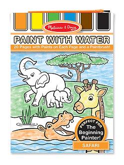 Melissa & Doug Safari Paint With Water