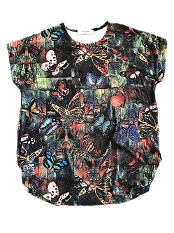 Beaded Butterfly Shirt by Portman Studios