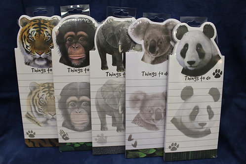 Magnetic Zoo Animal Notepads