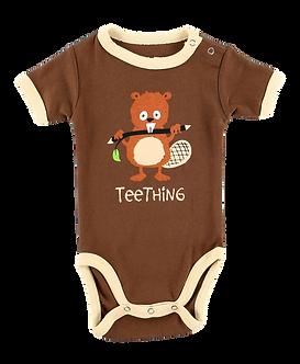 Teething Baby Boy Onesie by Lazy One