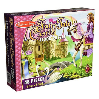48 Piece Melissa & Doug Fairy Tale Castle Floor Puzzle