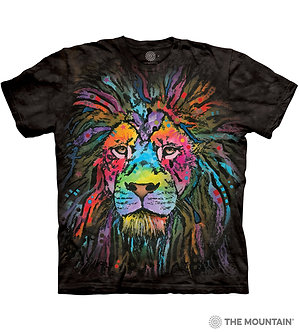 """Mane Lion"" Adult T-Shirt by The Mountain"
