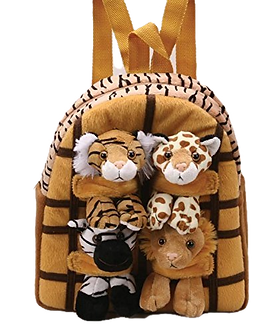 Zoo/Wild Animals Backpack by Unipak