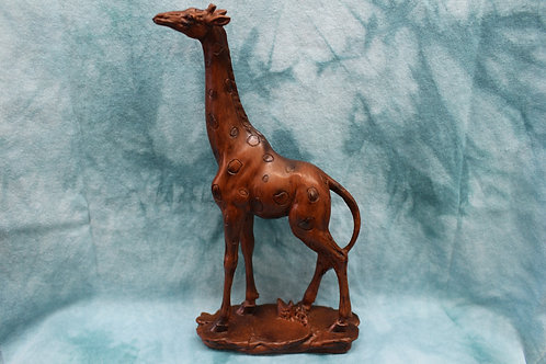 Brown Giraffe Figurine