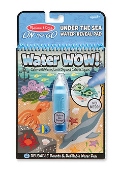 Melissa & Doug On The Go Under the Sea Water Wow