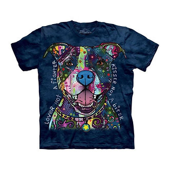 """Russo Kisser"" Pit Bull Adult T-Shirt by The Mountain"