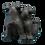 Black Bear Couple Figurine