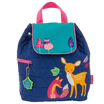 """Woodland Animals"" Fox and Deer Backpack by Stephen Joseph"