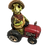 Turtle on Tractor Figurine by Gerson