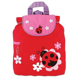 Ladybug Backpack by Stephen Joseph