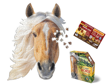 550 Piece I Am Horse Jigsaw Puzzle by Madd Capp Puzzles