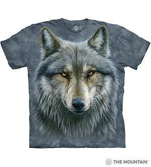 Warrior Wolf Adult T-Shirt by The Mountain
