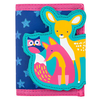 Woodland Animals Fox and Deer Wallet by Stephen Joseph