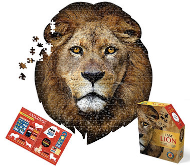 550 Piece I Am Lion Jigsaw Puzzle by Madd Capp Puzzles