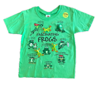 Frog Snap-On T-Shirt by WildThings