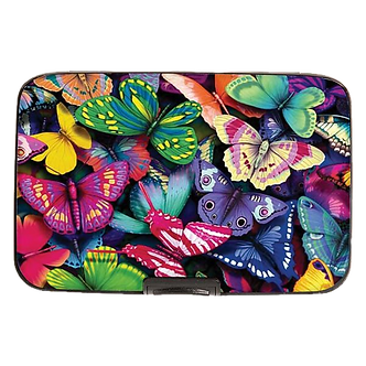 Butterflies Armored Wallet by Monarque