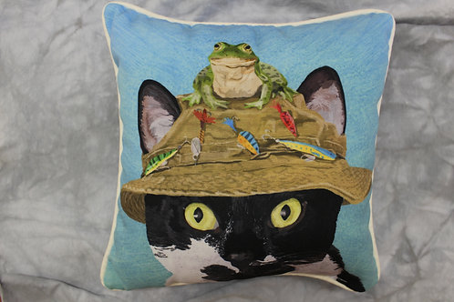 Cats in Hats Pillows