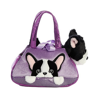 Fancy Pals French Bulldog Peek-A-Boo Purse