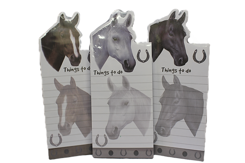 Magnetic Horse Notepads