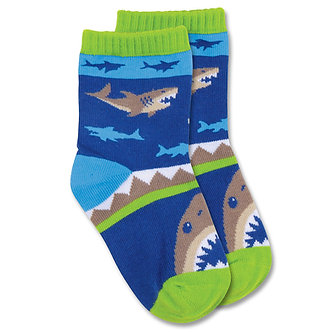 Shark Toddler Socks by Stephen Joseph