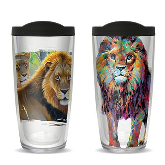 Lion Thermal Insulated Tumbler Cups