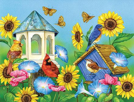 "500 Piece Bird Jigsaw Puzzle by SunsOut ""Days of Sun"""