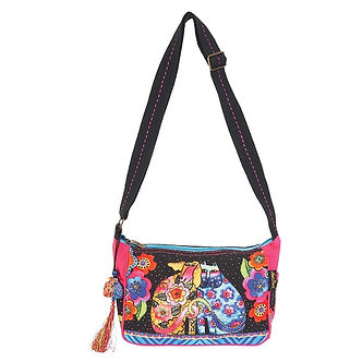 "Laurel Burch ""Kindred Friends"" Dog & Cat Crossbody Purse"