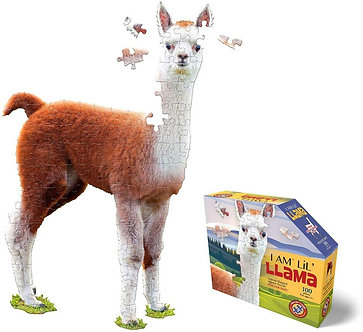 100 Piece I Am Lil' Llama Jigsaw Puzzle by Madd Capp Puzzles