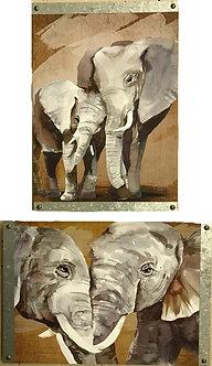 Elephant Wall Art by Ganz