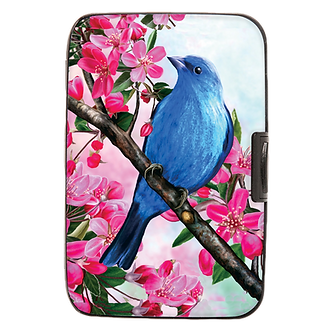 Bluebird Armored Wallet by Monarque