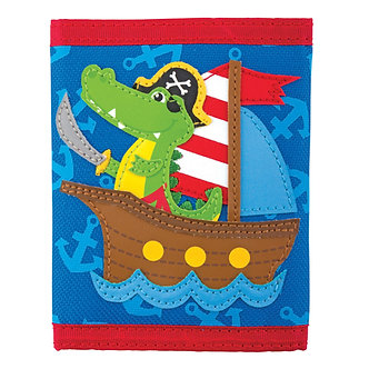 Pirate Alligator Wallet by Stephen Joseph
