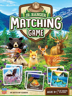 JR RANGER MATCHING MEMORY CARD GAME by MasterPieces