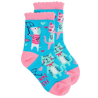 Cat and Dog Toddler Socks by Stephen Joseph