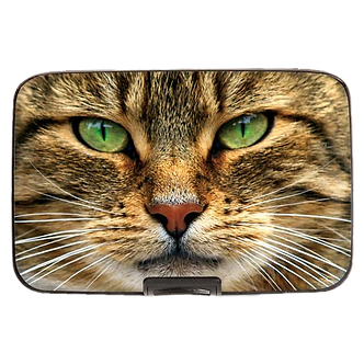 Maine Coon Cat Armored Wallet by Monarque